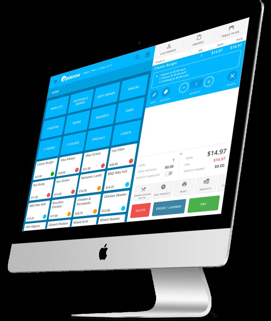 EPOS System Screen